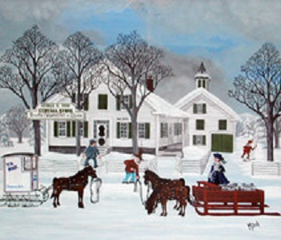 Painting of Cobb House