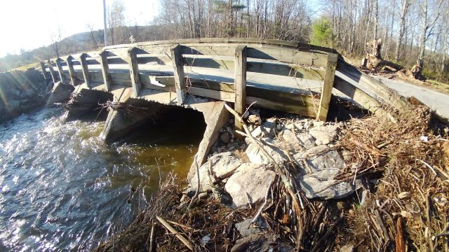 high water under bridge