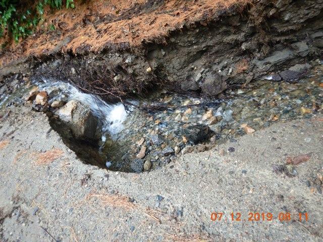ditch damage