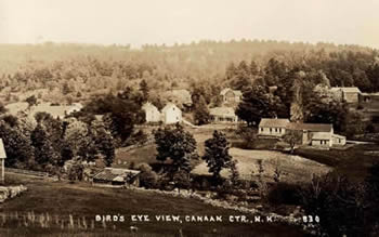 Aerial view of early Canaan