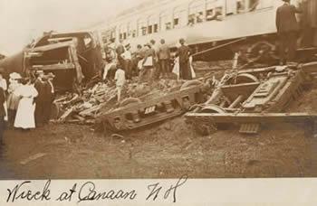 Canaan Train Wreck