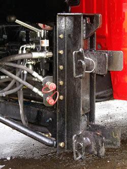 plow mechanism for Dodge truck