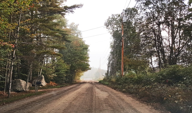road ground up
