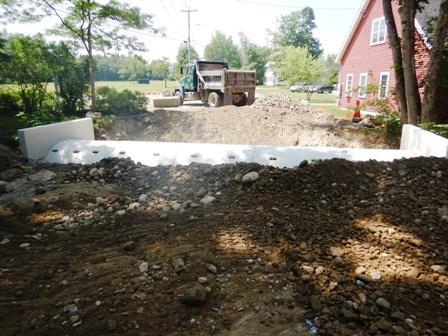 culvert getting buried