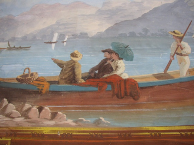 close up of people in boat