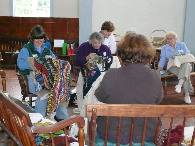 rug hooking gathering