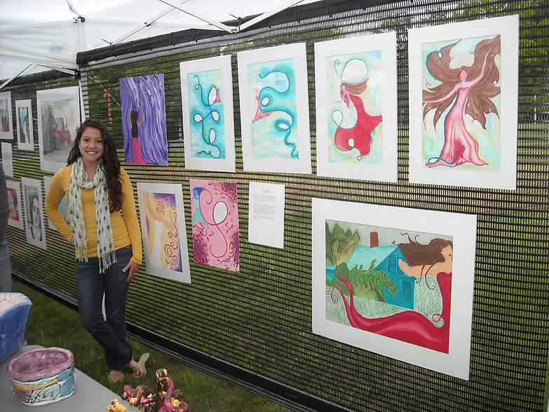 student art display