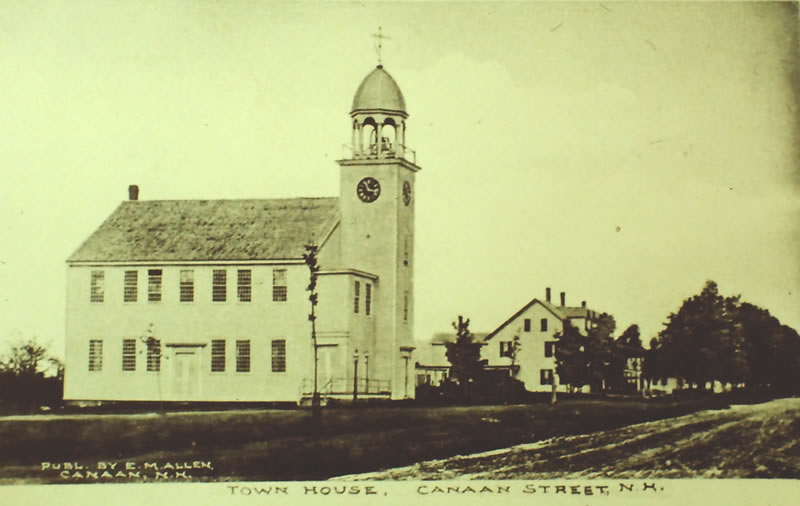 Meeting House Postcard