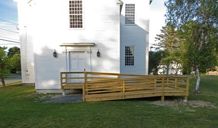 rear entrance ramp