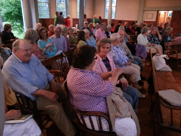 meeting house reading audience