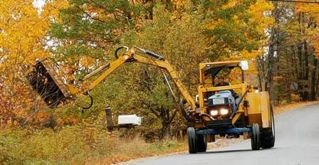 roadside mower